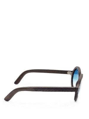Smythe Les Vestes: sunglasses online - Wheel snake effect sunglasses