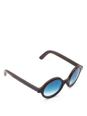 Smythe Les Vestes: sunglasses - Wheel snake effect sunglasses