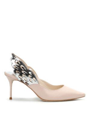 Sophia Webster: court shoes - Angelo slingback mid pumps