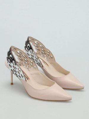 Sophia Webster: court shoes online - Angelo slingback mid pumps
