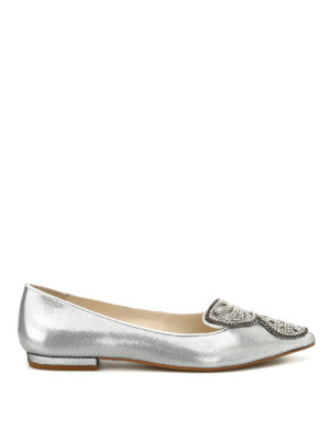Sophia Webster: flat shoes - Bibi Butterfly Crystal flats
