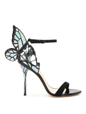 Sophia Webster: sandals - Chiara iridescent wings sandals