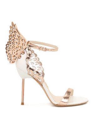 Sophia Webster: sandals - Evangeline wings detailed sandals