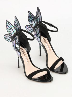 Sophia Webster: sandals online - Chiara iridescent wings sandals