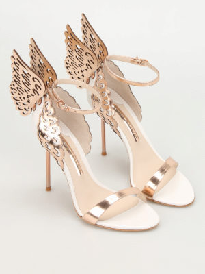 Sophia Webster: sandals online - Evangeline wings detailed sandals
