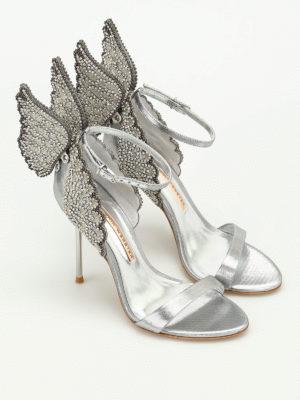 Sophia Webster: sandals online - Evangeline wings detailed sandals