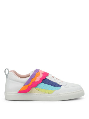 Sophia Webster: trainers - Fire Bird low top sneakers