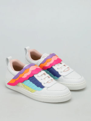 Sophia Webster: trainers online - Fire Bird low top sneakers