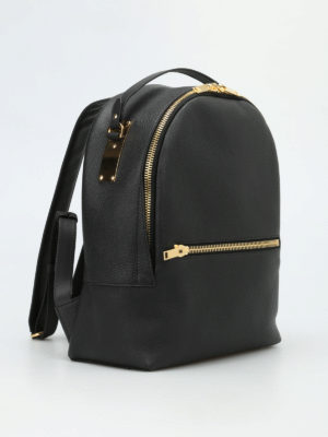 Sophie Hulme: backpacks online - Wilson leather medium backpack