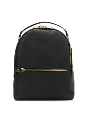 Sophie Hulme: backpacks - Wilson leather medium backpack