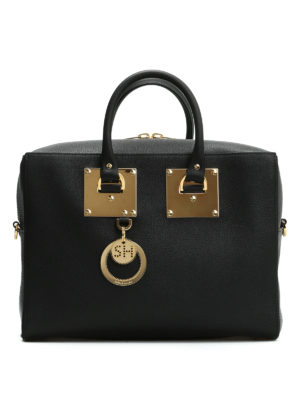 Sophie Hulme: bowling bags - Cromwell leather bowling bag