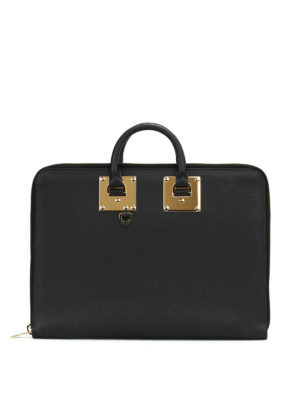Sophie Hulme: laptop bags & briefcases - Albion leather document holder