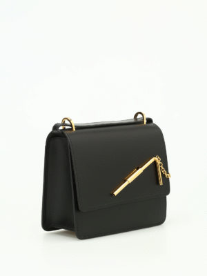 Sophie Hulme: shoulder bags online - Medium Straw leather bag