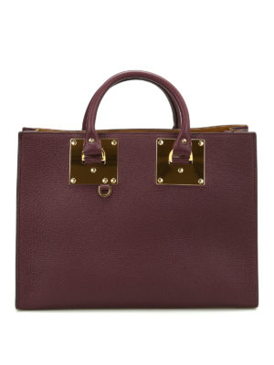 Sophie Hulme: totes bags - E/W Albion leather tote