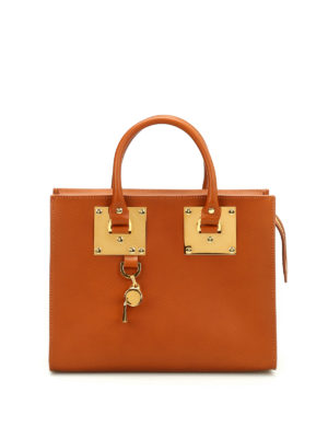 Sophie Hulme: totes bags - Medium Box Albion bag