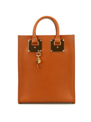 Sophie Hulme: totes bags - Mini Albion leather tote