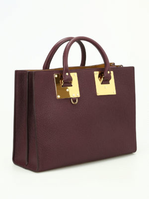 Sophie Hulme: totes bags online - E/W Albion leather tote