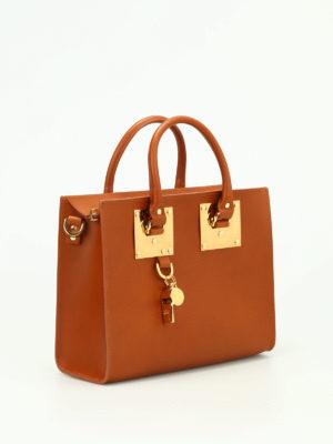 Sophie Hulme: totes bags online - Medium Box Albion bag