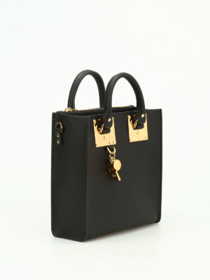 Sophie Hulme: totes bags online - Square Albion leather bag