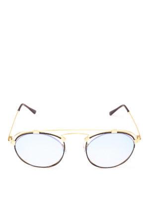 SPEKTRE: occhiali da sole online - Occhiali da sole Coral in acciaio dorato