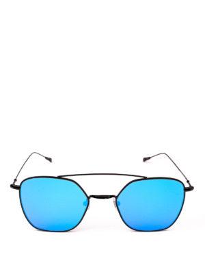 SPEKTRE: occhiali da sole online - Occhiali da sole Dolcevita neri con lenti blu