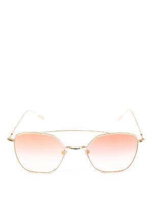 SPEKTRE: occhiali da sole online - Occhiali da sole Dolcevita color oro pallido