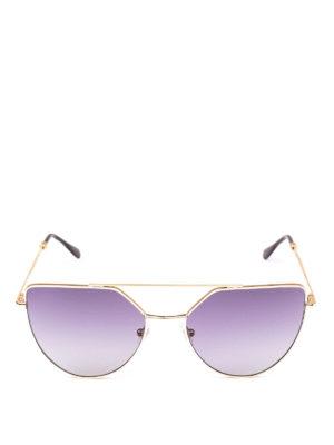 SPEKTRE: occhiali da sole online - Occhiali da sole Offshore oro pallido