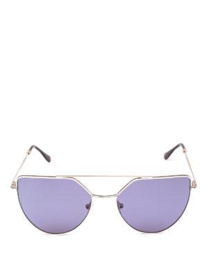 SPEKTRE: occhiali da sole online - Occhiali da sole color oro pallido Offshore
