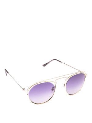 SPEKTRE: occhiali da sole - Occhiali da sole Coral color argento