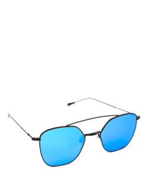SPEKTRE: occhiali da sole - Occhiali da sole Dolcevita neri con lenti blu