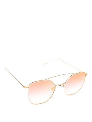 SPEKTRE: occhiali da sole - Occhiali da sole Dolcevita color oro pallido