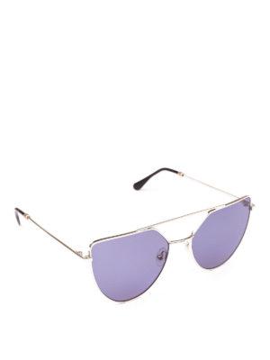 SPEKTRE: occhiali da sole - Occhiali da sole color oro pallido Offshore