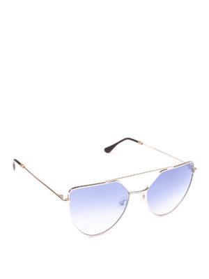 SPEKTRE: occhiali da sole - Occhiali da sole color argento Offshore