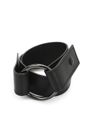 Sportmax: belts - Viglio leather belt