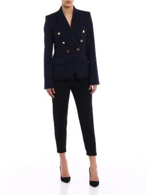 Stella Mccartney: blazers online - Robin wool army blazer