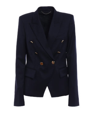 Stella Mccartney: blazers - Robin wool army blazer