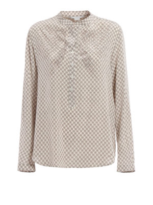 Stella Mccartney: blouses - Eva patterned silk blouse