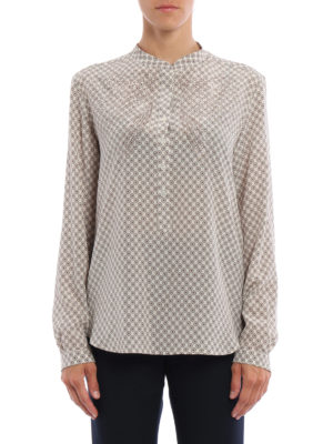 Stella Mccartney: blouses online - Eva patterned silk blouse