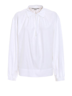 Stella Mccartney: blouses - Organic cotton straight blouse