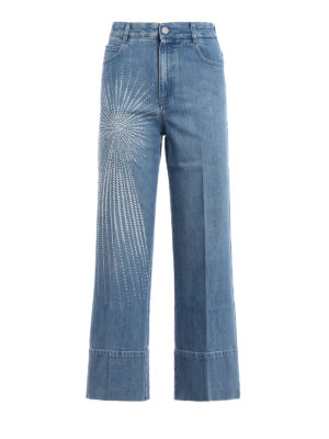 Stella Mccartney: Boyfriend - Boyfriend jeans with star
