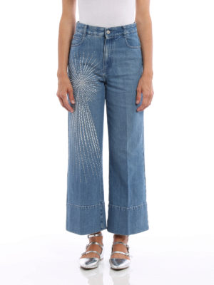 Stella Mccartney: Boyfriend online - Boyfriend jeans with star