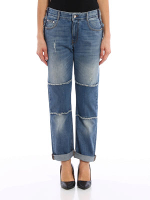 Stella Mccartney: Boyfriend online - Worn out frayed boyfriend jeans