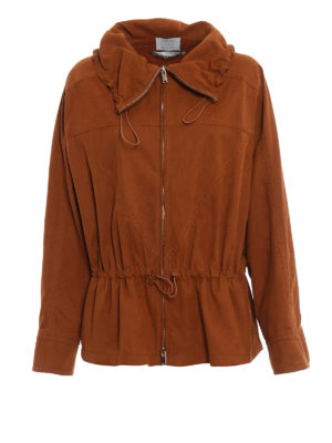Stella Mccartney: casual jackets - Freda alter suede jacket