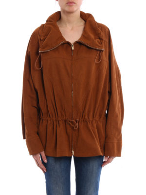 Stella Mccartney: casual jackets online - Freda alter suede jacket