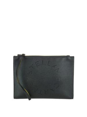 STELLA McCARTNEY: pochette - Clutch Stella Logo nera
