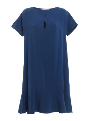 Stella Mccartney: cocktail dresses - Straight lines crepe dress