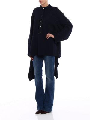 Stella Mccartney: crew necks online - Cotton sweater with golden buttons