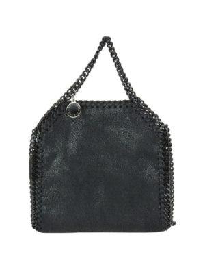 STELLA McCARTNEY: borse a tracolla - Tracolla Tiny Falabella nera