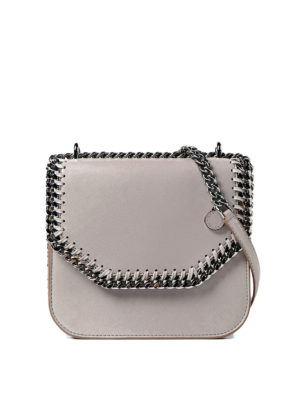 Stella Mccartney: cross body bags - Falabella Box mini bag