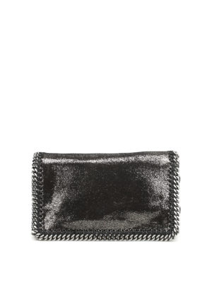 Stella Mccartney: cross body bags - Falabella foldover crossbody
